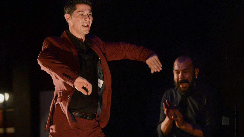 Rafael Campallo (i) y Miguel Soto (d) en el Teatro Real. (Juanlu Vela)
