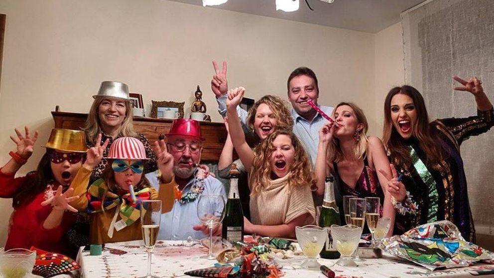 Paula Echevarría se inspira en Letizia para su 'look' de Nochevieja