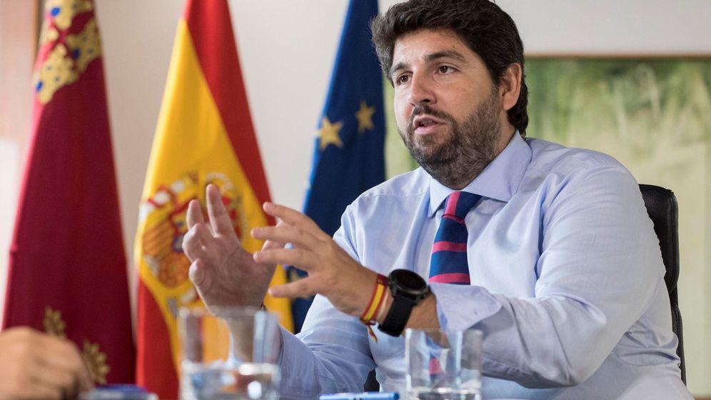 Foto: El presidente de la región de Murcia, Fernando López Miras (EFE)