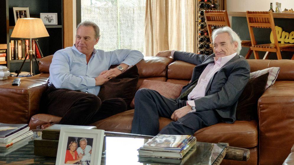 Foto: Luis del Olmo y Bertín Osborne en 'Mi casa es la tuya'