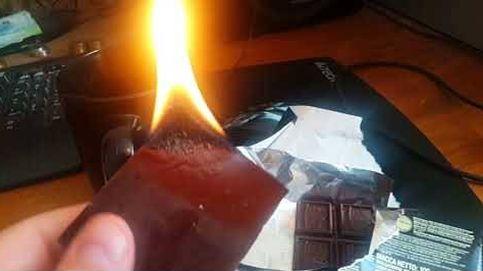 ¿Qué pasa si quemas chocolate? Este vídeo te lo muestra