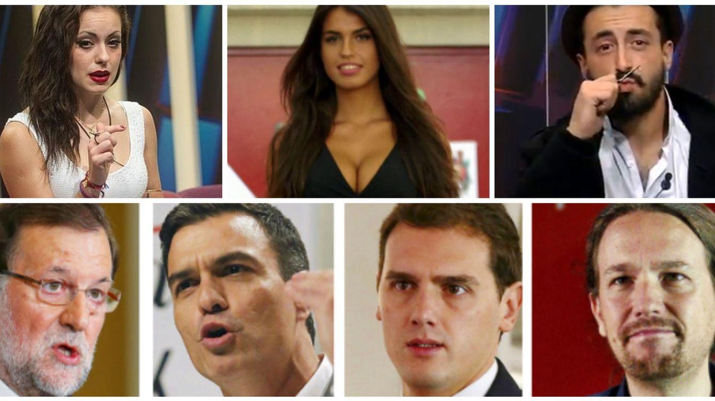 Foto: 'Gran Hermano 16' vs Elecciones Generales 2015