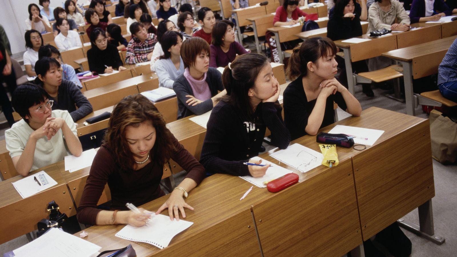Foto: Las universidades japonesas han sido objeto de grandes críticas durante los últimos años. (Corbis)