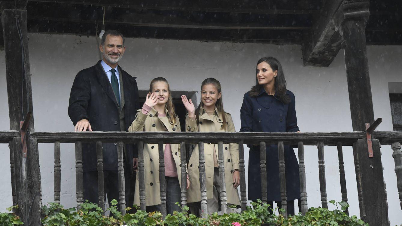 Los looks masculinos de Letizia, Leonor y Sofía en Asiegu, el Pueblo Ejemplar