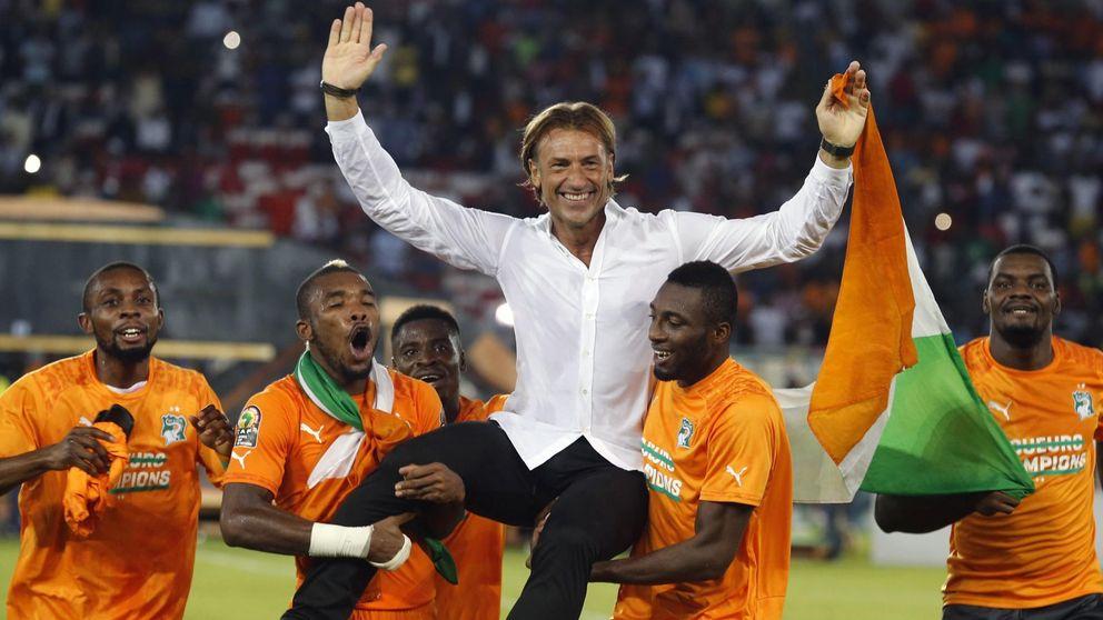 Una camisa blanca, el gran secreto para conseguir una Copa de África