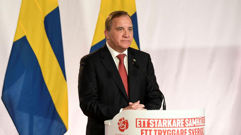 El primer ministro sueco, Stefan Löfven. (Reuters)