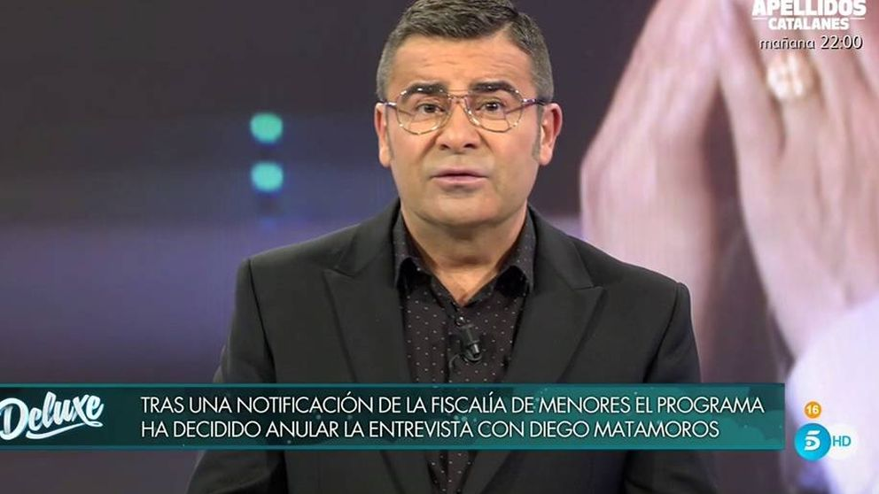 La Fiscalía de Menores prohíbe a Telecinco entrevistar a Diego Matamoros