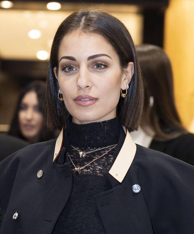 Foto: Hiba Abouk en una presentación de Bvlgari en 2019. (Cordon Press)