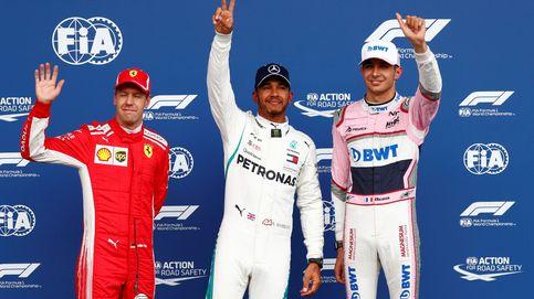 La clasificación del GP de Bélgica: Hamilton le birla una caótica pole a Vettel