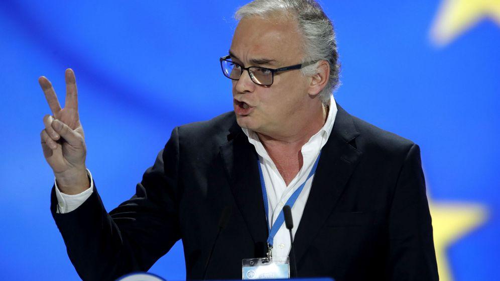 Foto: Esteban González Pons, portavoz de la delegación española del Grupo Popular en el Parlamento Europeo. (EFE)