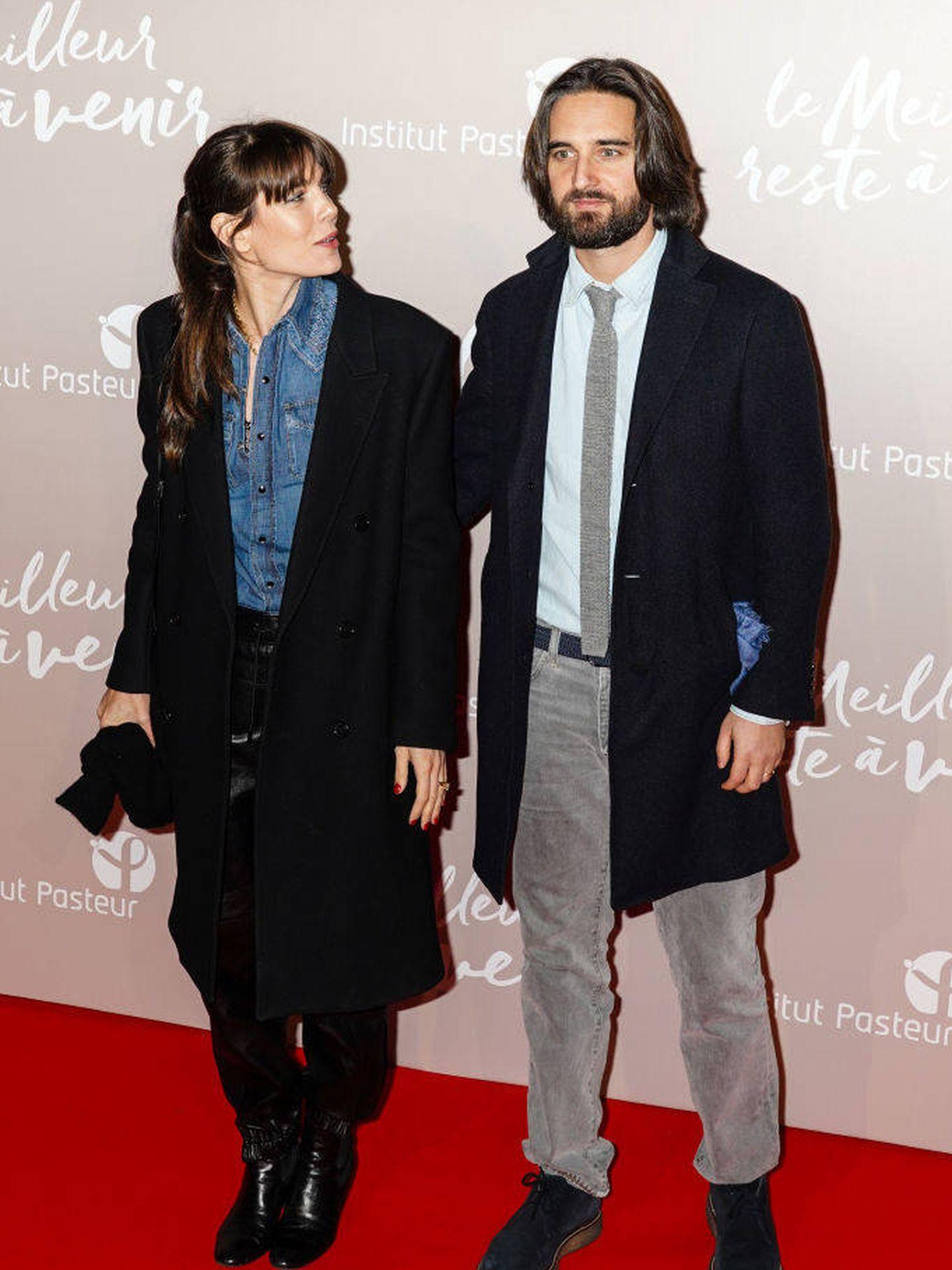 Carlota Casiraghi y Dimitri Rassam.  (Getty)