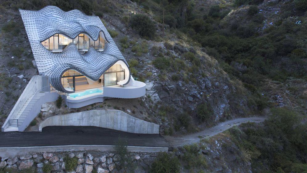 Foto: La mítica casa del acantilado (Foto: Pablo Gil y Jaime Bartolomé)