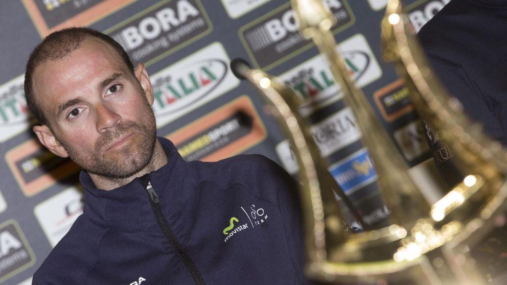 Valverde empieza a conocer Italia en la Tirreno, el ensayo general para el Giro