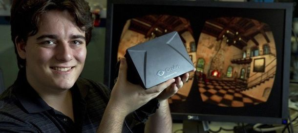 Foto: Palmer Luckey, ideólogo de Oculus Rift