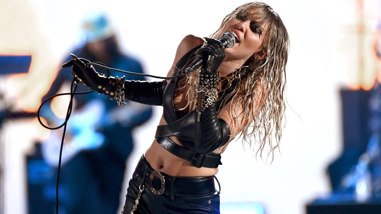 Miley, en directo. (Getty)