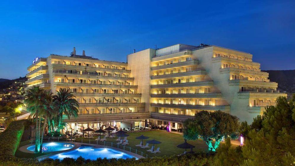 Foto: El Hotel Meliá de Sitges.
