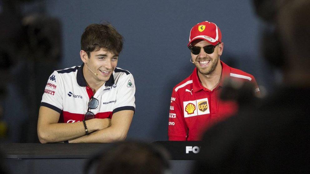 Cómo la joya de Ferrari, Leclerc, pone el coche donde no debería