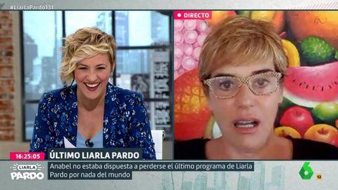 Cristina Pardo se emociona con el mensaje de despedida de Anabel Alonso