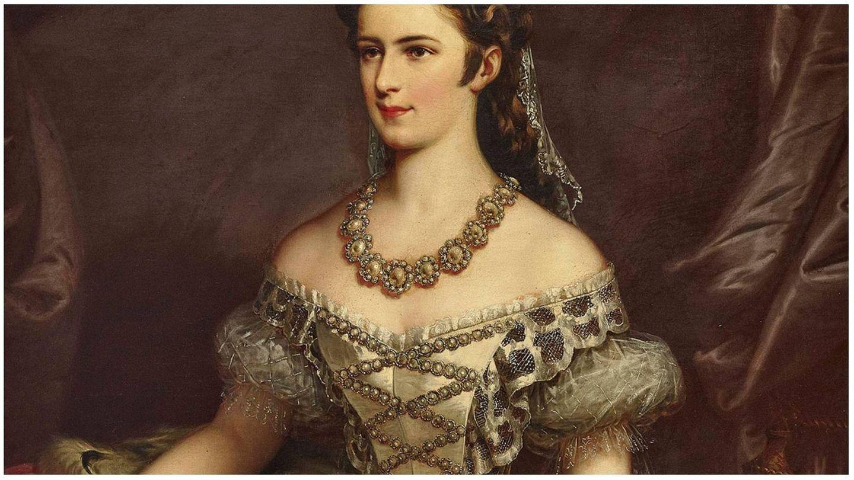 Retrato de Sissi por el pintor de la corte Franz Joseph. (Sisi Museum-Hofburg Wien)