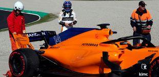 Post de El regreso de Alonso tras reconocer un vacío: