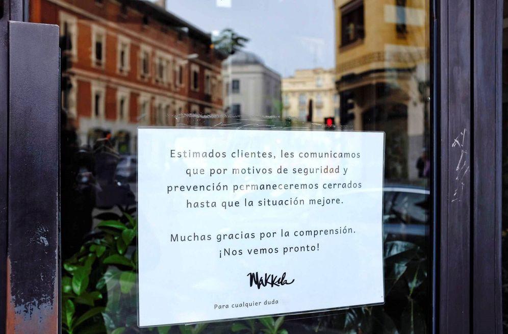 Foto: Cierre de los comercios. (EFE)