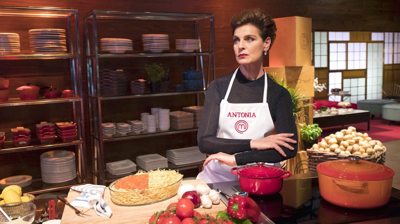 Antonia Dell'Atte, en 'MasterChef Celebrity'. (TVE)
