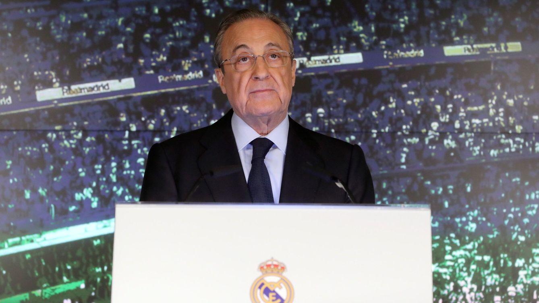 La trinchera de Florentino Pérez en la semana fantasma del Real Madrid