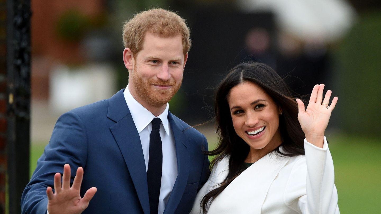 Meghan y Harry, cuando anunciaron su compromiso. (EFE)