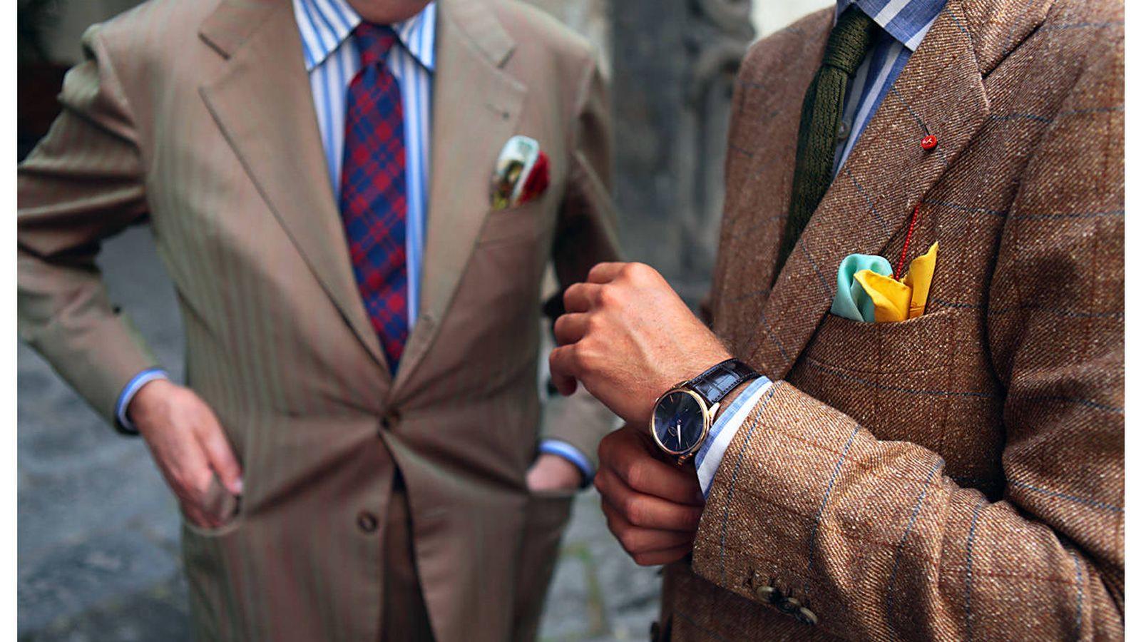 Moda hombre: Elegancia italiana: la artesanía de calidad se impone en el  mundo