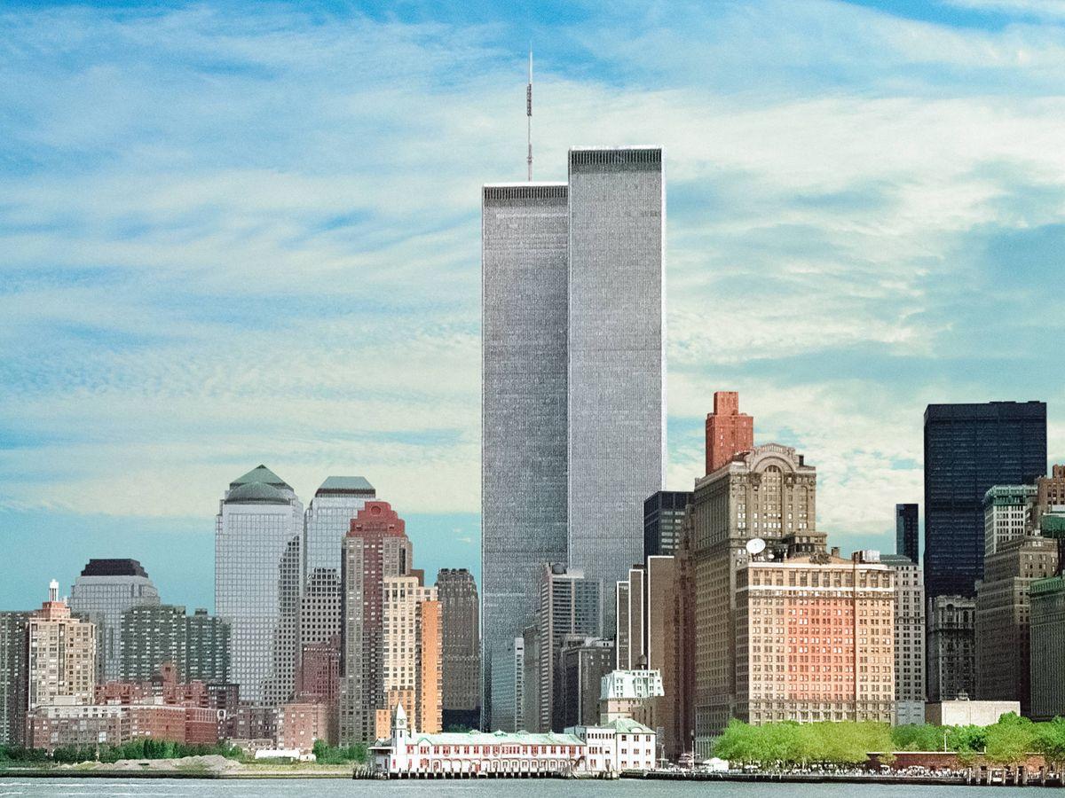 Foto: Skyline de Nueva York con las Torres Gemelas en 1994. (iStock)