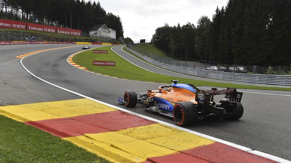 Llegas y ¡Bang!, el tiempo te sale...: algo está cambiando para Carlos Sainz y su McLaren