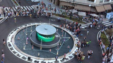La polémica rotonda de los accidentes de Vigo: un led gigante de 34.000 euros