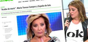 Post de Oro parece, plátano es: 'Diario Gol', el medio que hizo llorar en directo a Toñi Moreno