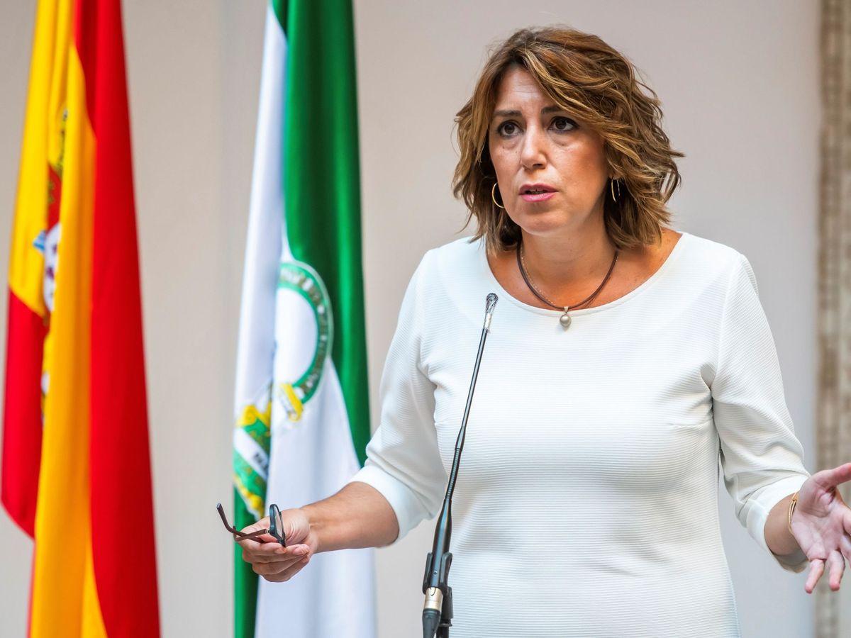 Foto: La ex secretaria general del PSOE-A, Susana Díaz. (EFE)