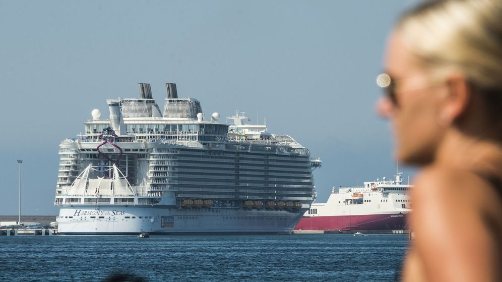 Foto: Imagen de un crucero atracado en el puerto de Palma. (EFE)
