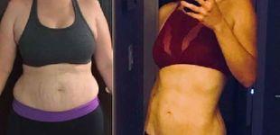 Post de La mujer que bajó cinco tallas con estos dos simples ejercicios