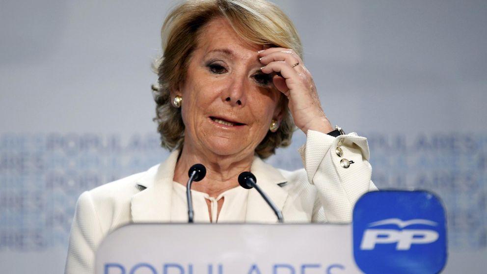 Aguirre hunde al PP en Madrid, que ya busca nueva 'lideresa'
