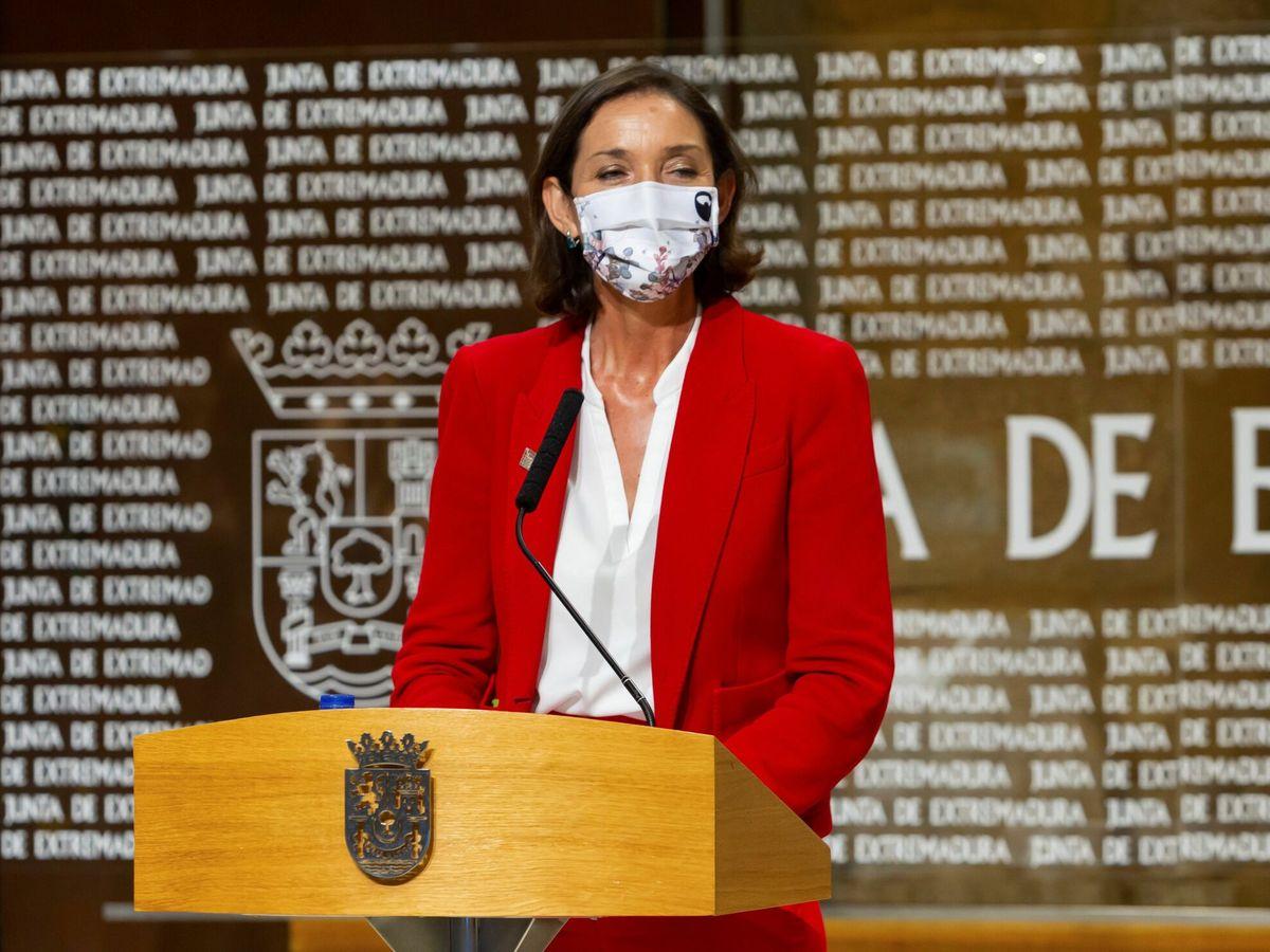 Foto: La ministra de Industria, Turismo y Comercio, Reyes Maroto. (EFE)