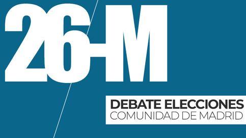 El debate de Telemadrid, en directo: siga en 'streaming' el encuentro entre los cinco candidatos