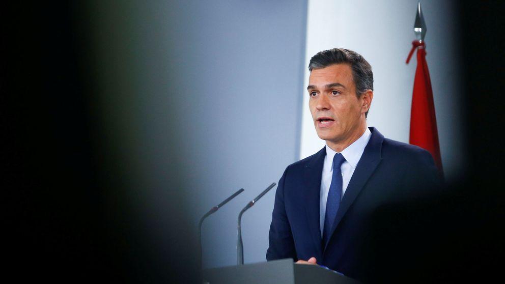 Sánchez arranca la campaña con ataques a Podemos y a la caza del voto de Cs