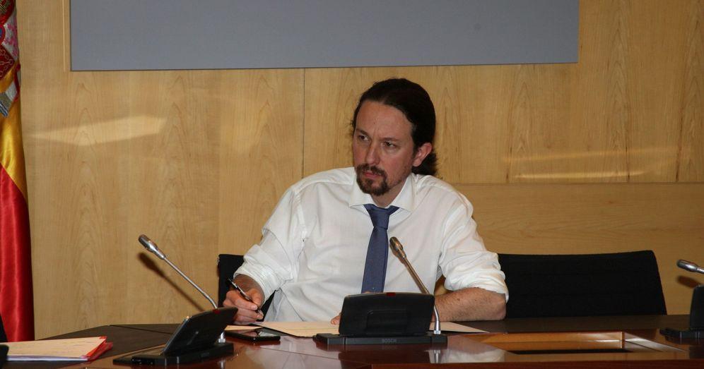 Foto: Fotografía facilitada por Moncloa del vicepresidente segundo del Gobierno y ministro de Derechos Sociales y para la Agenda 2030, Pablo Iglesias. (EFE)