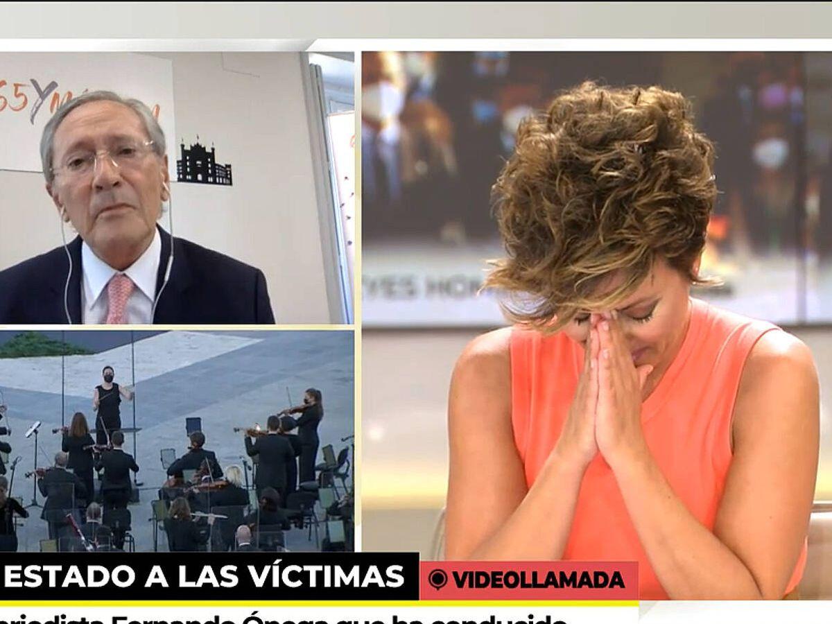 Foto: Sonsoles Ónega, en 'Ya es mediodía'. (Telecinco)