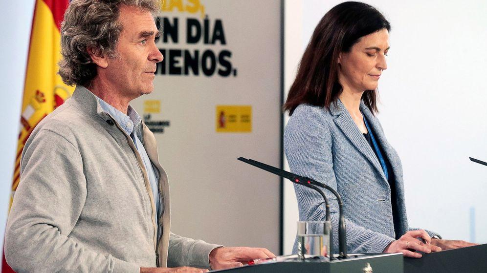 Foto: Fernando Simón y Raquel Yotti. (EFE)
