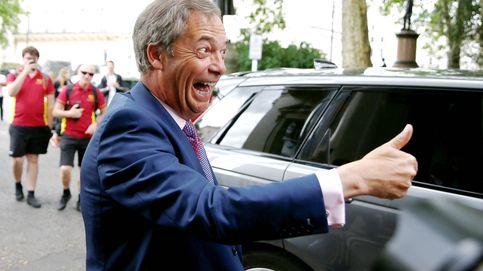 Terremoto europeo de Farage con epicentro en Westminster: Brexit duro o elecciones