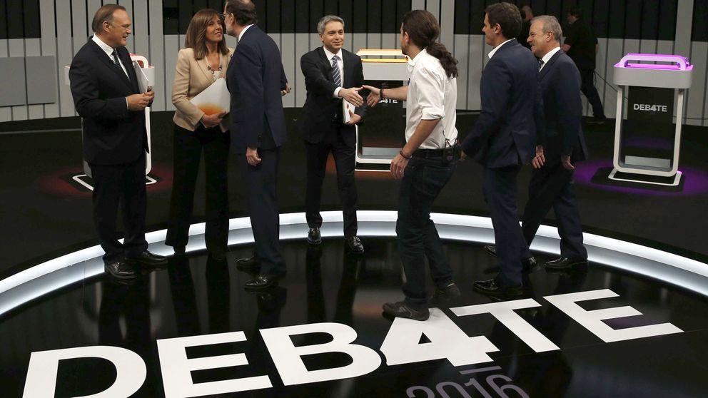 'Debate a 5': solo Iglesias y Abascal dan el ok; Sánchez, Casado y Rivera se lo piensan
