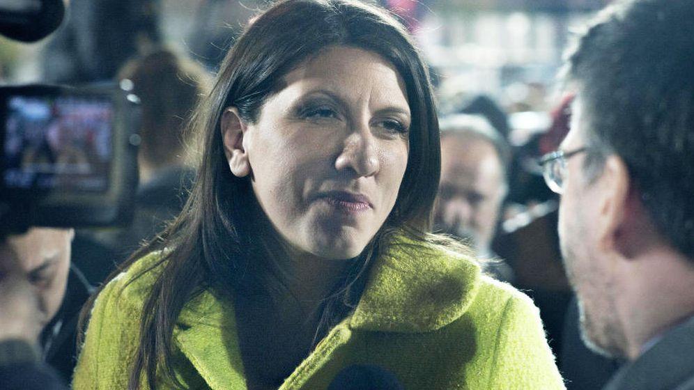 Foto:  Zoí Konstantopoulou, presidenta del Parlamento griego y símbolo del Gobierno de Syriza. (Ggia)