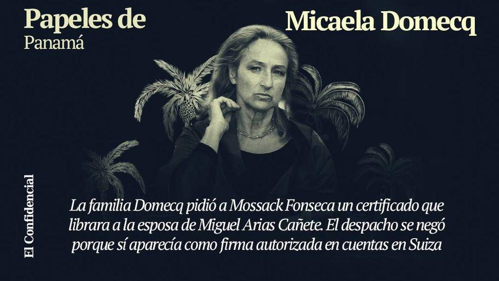 Micaela Domecq, en las nuevas revelaciones de los Papeles de Panamá