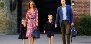 Post de Kate, George y Charlotte siembran el caos en el colegio con su efecto llamada