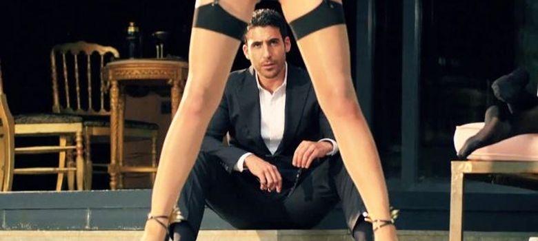Foto: Miguel Ángel Silvestre en una secuencia del vídeo (L'Argent)
