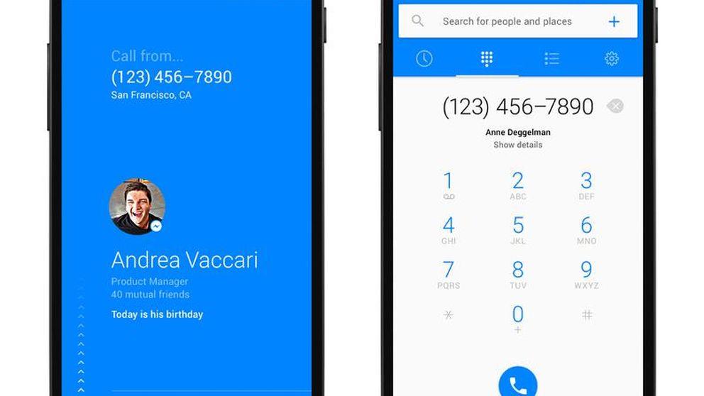 Facebook lanza una aplicación para acabar con las llamadas misteriosas